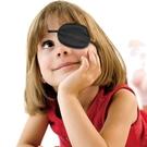 兒童弱視眼罩單眼罩海盜男女全遮蓋遮光