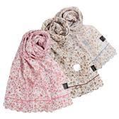 DAKS 浪漫花卉抗UV純棉薄圍巾(3色)989126-24