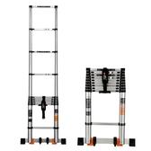 伸縮梯 鎂多力加厚升降鋁合金家用竹節伸縮梯多功能工程樓梯 MKS 阿薩布魯