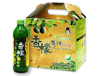 領券折【台灣好田】香檬原汁300ml(6入)