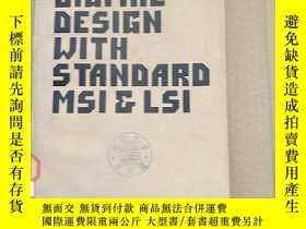 二手書博民逛書店digital罕見design with standard MSI and LSI(P235)Y173412