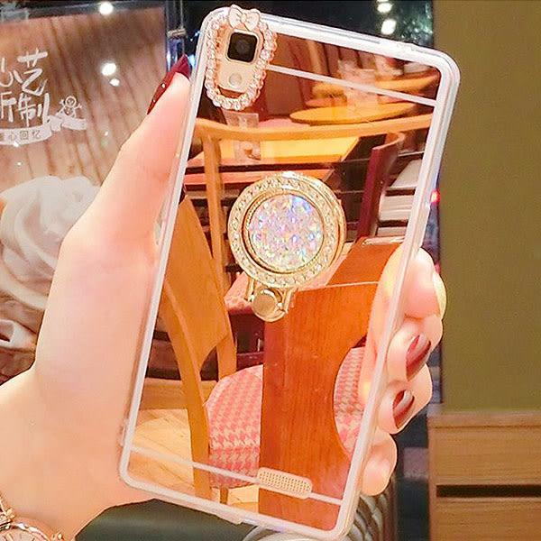 三星 Note8 Note5 Note4 五瓣花支架 水鑽 手機殼 鏡面 軟殼 電鍍殼 保護軟殼