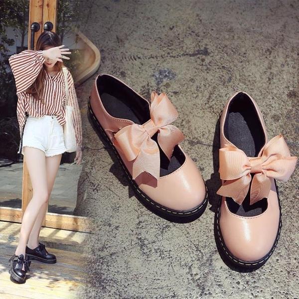 娃娃鞋 lolita小皮鞋春軟妹女鞋厚底日繫瑪麗珍女單鞋可愛圓頭學生娃娃鞋 雙12狂歡