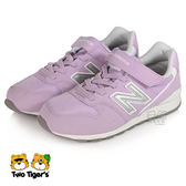 New Balance 996 粉紫色 魔鬼氈 運動鞋 中大童 NO.R2997