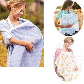 四季全棉遮羞哺乳衣喂奶巾外出防走光遮擋布喂奶衣披肩 QG1407『愛尚生活館』
