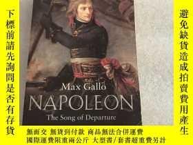 二手書博民逛書店MAX罕見GALLO NAPOLEON The Song of DepartureY280091 MAX GA