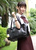 全館88折 日本jk制服包 二次元系學生通勤包 皮革手提書包百搭潮品