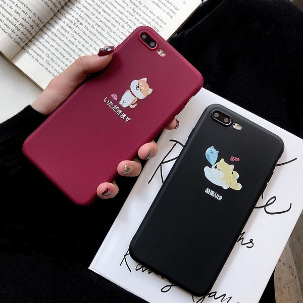 【SZ51】可愛卡通柴犬磨砂軟殼 oppo R11s手機殼 r11s plus r9s plus r15 r17手機殼 a3 A7X A59 A39 A57