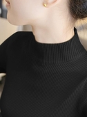 半高領毛衣打底衫針織衫