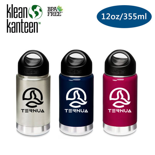 Klean Kanteen 保溫鋼瓶 K12VWSSL Ternua聯名款 (12oz/355ml) /城市綠洲 (水壺、水瓶、自行車水壺)