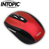 INTOPIC 廣鼎 MSW-670 2.4G 飛碟無線光學滑鼠 紅【特價~8/31】
