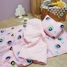 睡墊組 / 兒童標準【熊本熊樂園-兩色可選】專用睡墊三件組 高密度磨毛布 戀家小舖台灣製ABF088