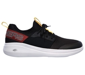 Skechers Go Run Fast [55109BKMT] 男鞋 運動 慢跑 休閒 輕量 透氣 舒適 避震 黑紅