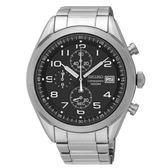 SEIKO 品味風格時尚計時腕錶/8T67-00D0D/SSB269P1