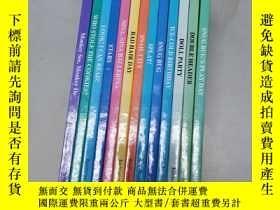 二手書博民逛書店ALL罕見ABOARD READING系列(13册合售)Y290224 编委会