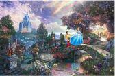【拼圖總動員 PUZZLE STORY】仙履奇緣 日系/Beverly/Thomas Kinkade X 迪士尼/1000P