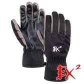 EX2 滑雪觸控保暖手套『黑』866080-A 戶外.保暖.可觸控手套.防風手套.保暖手套.防滑手套.滑雪手套