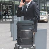 【N-19301】Niche 輕量質感後背包 商務旅行背包 配有德國專利快扣系統(買背包送護照夾)