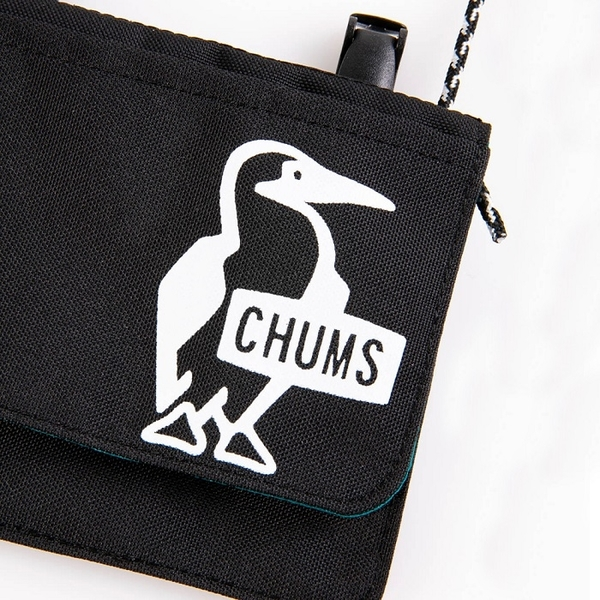 CHUMS Eco Pocket Shoulder Pouch (for KIDS)側背包 黑 CH602930K001【GO WILD】
