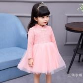 一周歲寶寶衣服女秋裝兒童小童旗袍裙子女童洋氣禮服蓬蓬3公主裙