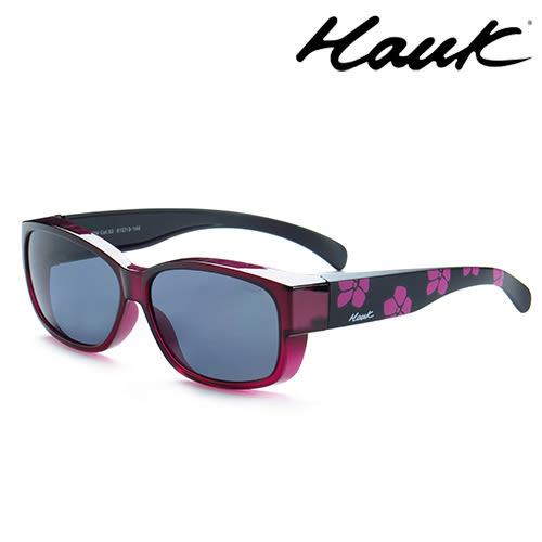 HAWK偏光太陽套鏡(眼鏡族專用)HK1004-53