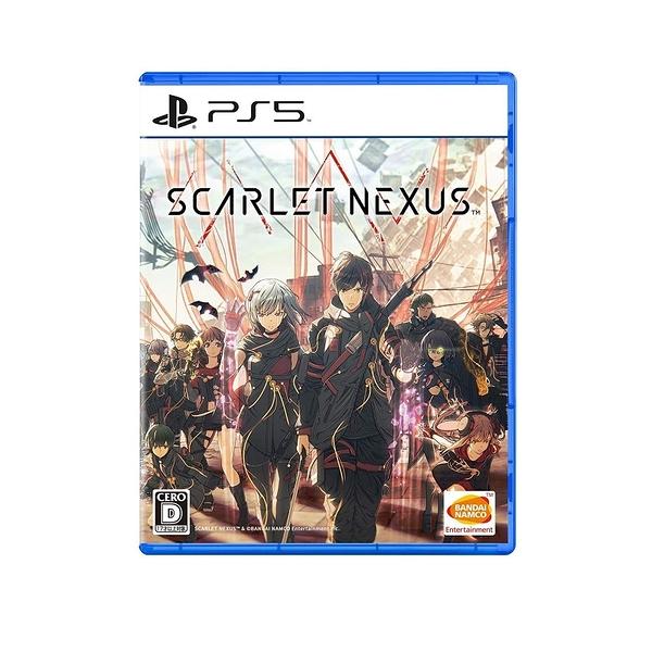 PS5 緋紅結繫 殷紅連結 Scarlet Nexus 中文版(預購6/25)