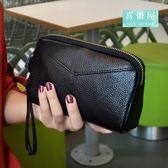【喜番屋】真皮頭層牛皮女士可裝6吋手機皮夾皮包錢夾零錢包手拿包手機包手包女包女夾【LH394】