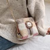 側背包小包包百搭斜挎包少女鏈條包時尚單肩包【聚可愛】