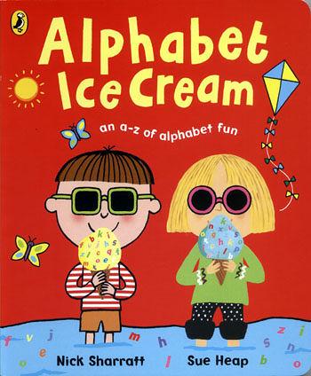 【麥克書店】ALPHABET ICE CREAM  /英文繪本