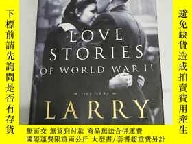 二手書博民逛書店LOVE罕見STORIES OF WORLD WAR II【第二