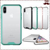 蘋果 IPhoneX IPhone8 Plus IPhone8 透明鎧甲 全包 手機殼 防摔殼 保護殼 軟邊 後硬殼 透明殼