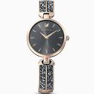 原廠公司貨 簡約兩針顯示 璀璨水晶鑲飾錶鏈 不鏽鋼錶殼、錶帶 料號:5519315