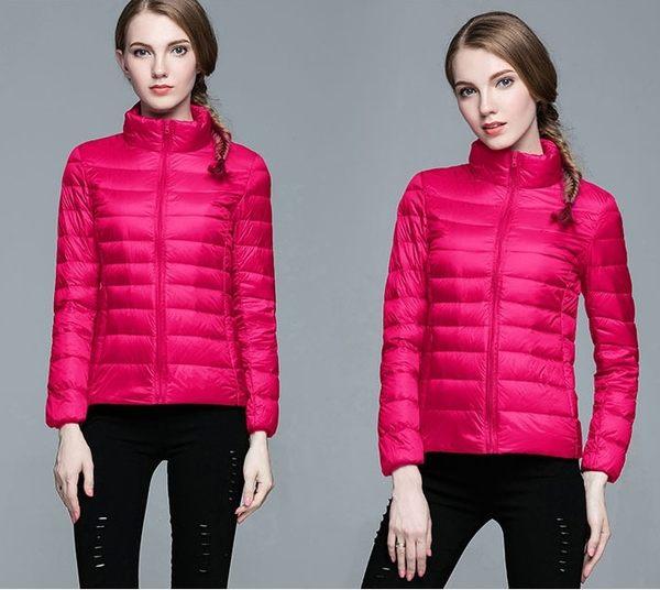 輕薄羽絨外套 立領短版外套保暖顯瘦 S-3XL 13色 #im6002 ❤卡樂store❤