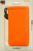 3DS irodori 束口包 橘色