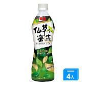 泰山仙草蜜茶500ml*4入【愛買】