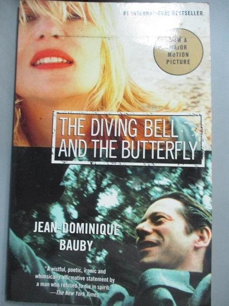 【書寶二手書T1/原文小說_KOX】The Diving bell and the butterfly_Bauby