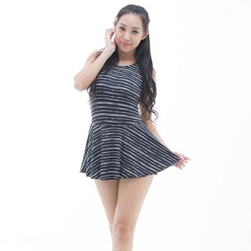 【南紡購物中心】【BICH LOAN】泡湯/SPA專用大尺碼連身裙泳裝13006618