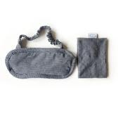 全棉透氣遮光成人加厚純棉睡眠睡覺眼罩冰袋