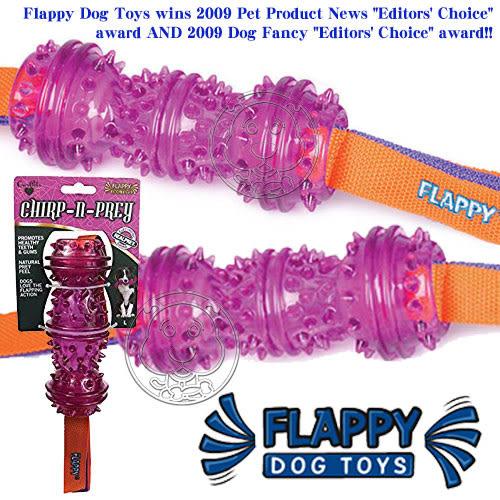 【zoo寵物商城】美國FLAPPY》FL-29865藍苺QQ音效狗玩具中小型犬用-M號