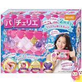 Hamee 日本 玩具大賞 PACHERIE 拼扣包包 手工製作 創意DIY 拼圖包 方塊包 (粉色兩用包) 486404