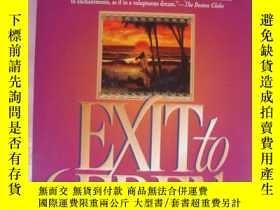 二手書博民逛書店Exit罕見to Eden by Anne Rice 逃往伊甸園