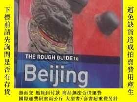 二手書博民逛書店英文原版罕見The Rough Guide to Beijing