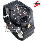G-SHOCK GA-810B-1A4 指針數位雙顯設計 電子運動錶 黑x玫瑰金 GA-810B-1A4DR CASIO卡西歐