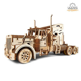 UGEARS 重裝教父-Heavy Boy Truck VM-03 自走模型 六缸引擎 V6 變形金剛柯博文 大卡車頭
