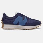 New Balance 男款 藍色 經典復古 休閒鞋 MS327HL1 【KAORACER】