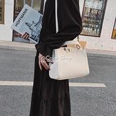 小貓包時尚百搭斜背包包女2010新款潮mini網紅白色單肩手提包女包 快速出貨