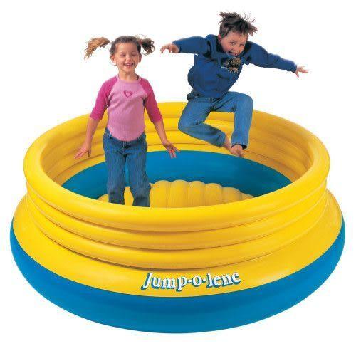 [衣林時尚] INTEX 兒童彈跳池 彈跳床 203cm x 69cm 48267