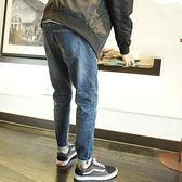 2018春季新款牛仔褲男修身男士小腳牛仔褲韓版潮流彈力小腳褲【店慶滿月好康八五折】