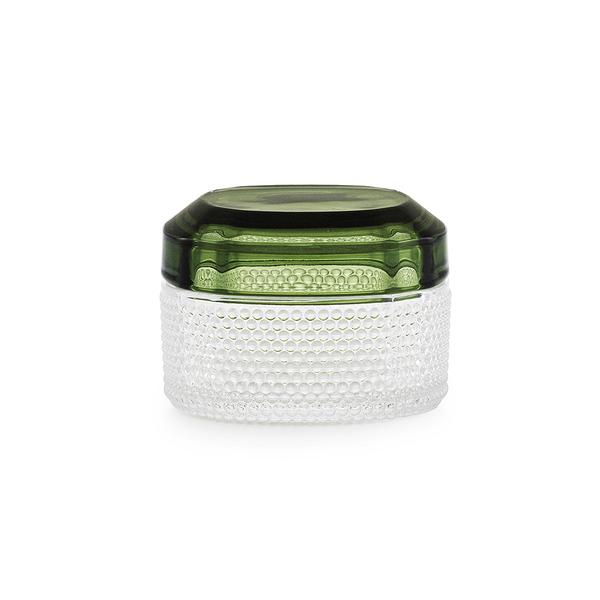丹麥 Normann Copenhagen Brilliant Box Small 晶彩 玻璃置物盒 小尺寸(湖水綠)