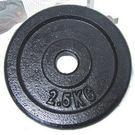 (2.5公斤)傳統槓片(2片裝/共5公斤)